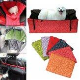 Cão Gato Tampa de assento Tampa de segurança Pet impermeável Hammock Seat Cover Mat Almofada para carro
