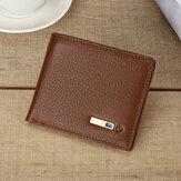Herren Vintage Echtes Leder Kartenhalter Geldbörse