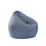 80x90cm Portable Lounge Bean Bag Cover 420D Oxford Waterproof Lazy Sofa Chair Dust Protector