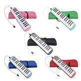 IRIN 32 chave Melodica Harmonica Teclado Eletrônico Boca Órgão com Acordeão Bolsa