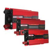 Onduleur d'énergie solaire rouge DC12V au convertisseur sinusoïdal modifié d'AC220V avec l'écran LCD pour la maison de voiture
