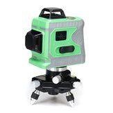 3D 12Line Green Laser Level Self Leveling 360° Rotary Cross Outdoor Measure Tool