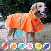 Płaszcz przeciwdeszczowy dla zwierząt Przezroczysty płaszcz przeciwdeszczowy Kurtka przeciwdeszczowa dla psa Odzież wodoodporna