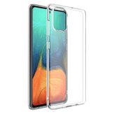 حافظة TPU شفافة غير صفراء Soft من Bakeey شفافة لـ Samsung Galaxy A51 2019