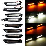 Boczne światła obrysowe LED Lampy kierunkowskazów w kolorze białym / żółtym Dla BMW E46 E60 E82 E88 E90 E92 E93