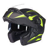 Casco integrale da moto GXT 902 DOT Flip up Motocross Double lente Racing Riding