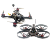 Happymodel Larva X HD 125mm F4 Cure-dents 2-3S HD Whoop HD Drone de course FPV 2en1 BNF avec la petite tortue Caddx