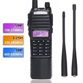 BaoFeng UV-82 VHF UHF 220-260 Mhz Amatuer Tweerichtingsradio Draagbare Ham Band Walkie Talkie Ham