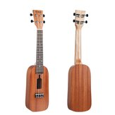 NAOMI 21/23インチウクレレボトルデザインSapele Topboard Backboard Rosewood Ukelele for Beginners