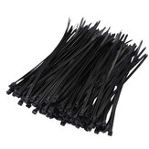 Suleve ZT05 Nylon 250Pcs/500Pcs 4mm 15/20/25/30cm Black/White Nylon Self-locking Cable Tie Zip Ties Strong Tensile Strength