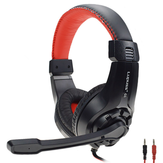 LPS G1 3.5mm + USB com fio Omnidirecional Gaming Headset Headphone com microfone para PS4 XBOX