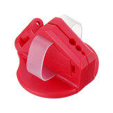 Drillpro Red Magnetic Safety Nailer ABS Finger Nailer Protect Your Fingers for Hammering Nail