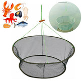 ZANLURE Foldable Fishing Net Fishing Bait Trap Crab Net Crawdad Shrimp Cast Dip Cage Fish Pot