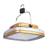 IPRee® 260LM LED Solar Kampçılık Hafif USB Şarj Edilebilir Çadır Işık Asma Lamba Outdoor Acil Fener