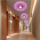 5W Flush Mounted Energy Saving Bright Ceiling Lamp Chandelier Ceiling Light LED Crystal Light Modern AC220V