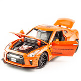 Multi-color Alloy Metal Pull Back Nissan GTR Nismo Cars Diecast Car Model Toys for Kids Gift
