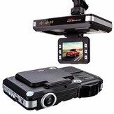 2in1 5MP Авто Видеорегистратор Регистратор + радар Лазер детектор скорости Trafic Alert