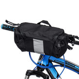 BIKIGHT 3L Frame Bolsa Bike Bicycle Caso Pannier Equipaje Pouch Portable Reflective Headpack