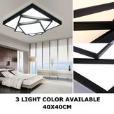 Modern Style LED Square Stack Ceiling Light Square Pendant Living Room Fixture