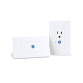SONOFF IW100/IW101 US WiFi Smart Power Monitoring Wall Socket Switch Work with Amazon Alexa and Google Assistant Voice Control LAN Control