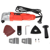 720W 220V 6 Variable Speed Sander Swing Tool Set Cutting Machine Multi-Purpose Oscillating Polishing Trimming Tools
