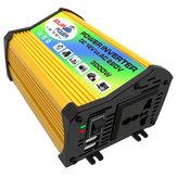 3000W Xe điện năng lượng mặt trời Biến tần DC 12V sang AC 110 V Chuyển đổi điện áp sóng hình sin biến đổi