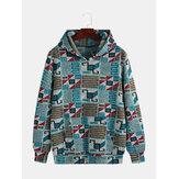 Mens Casual Loose Funny bedruckte Hoodies Sweatshirt