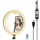 PULUZ PU455B PU455F 10.2 Inch RBGW Dimmable bluetooth APP Control Remote Control Arc LED Video Ring Light for Youtube Tik Tok Live Streaming