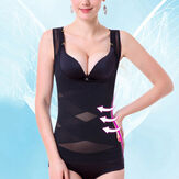 Seamless Body Slimmer Gather Thin Shapewear Abnehmen Korsett
