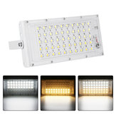 50W 50LED Dimmable Flood Light IP65 Waterproof Landscape Outdoor Lamp 3 Modes