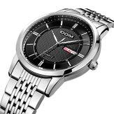 DOM M-11D 3ATM Waterproof Date Week Display Quartz Watch