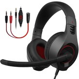 SENICC A2 Light Weight 3.5mm + USB Wired Gaming Headset With 40mm Speaker Unit Omni Directional Headphone With Microphone