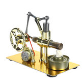 Mini Air Hot Stirling Engine Model Power Generator Motor Physics Educational Science Toy