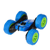 JJRC Q9 1/28 2.4G 4CH RC Car Double-Sided Flip Electric Stunt Drift Vehicles with LED Light Model
