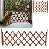 Opvouwbare houten babyhek Hek Veiligheidsbescherming Hondenhek Staande deur