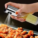 KCASA køkkenoliesprøjte tom flaske eddike flaske olie dispenser krydderier eddike flaske sojasau flaske salat bbq madlavning glas olie spray