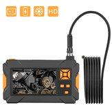 P30 4.3inch High-definition 1080P Display  Screen Hosepipe Borescope IP67 Waterproof 1M/3M/5M Orange Hand-held Industrial Borescope