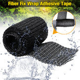 Fiber Fix Wrap Adhesive Tape Waterproof Repair Tools Household Repair Tape for Repairing Pipeline Water Pipe Table Foot w/ Gloves
