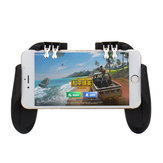 H9 Six Fingers SR Cooling Fan Gamepad Controller Cooler för iPhone Android Mobiltelefon för PUBG-spel utan batteri