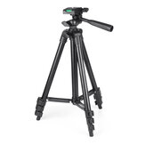 Protable Adjustable Phone Camera Self Stick Monopod Tripod Flexible Stand Mount Holder Clip with Bag