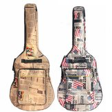 41インチ防水オックスフォードクロス二重パッドストラップギターギグバッグギターキャリングケース