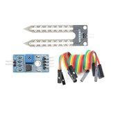 5Pcs Umidade do módulo de detecção de umidade do higrômetro do solo Sensor Geekcreit para Arduino - produtos que funcionam com placas oficiais Arduino