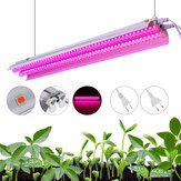 20W 96LED Grow Light Tube Full Spectrum Indoor Plant lamp Greenhouse Double Tube