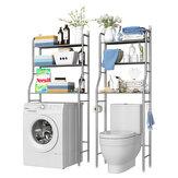 Rack de armazenamento de 2/3 camadas sobre o vaso sanitário / Banheiro / lavanderia / organizador de unidade de prateleira para máquina de lavar
