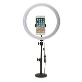 13 Inch RGB Dimmable LED Video Ring Light Selfie Lamp Untuk Rias Kamera Youtube Live