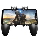 MEMO AK66 Six Finger All-in-One PUBG Mobile Game Controller Free Fire Key Button Joystick Gamepad L1 R1 PUBG Trigger for all Mobile Phone
