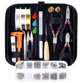 Jewelry Making Supplies Kit With Tools Wires And Jewelry