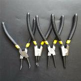 Pinza per anelli elastici da 7 pollici Strumento per clip di fissaggio combinato per anelli elastici