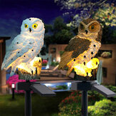 Solar القوة LED Owl Lawn ضوء Home Outdoor Yard Landscape Garden Lamp ضد للماء