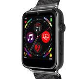 LEMFO LEM10 1GB + 16GB 1,82 'Großbild 4G Uhrentelefon GPS + GLONASS 2MP Frontkamera 700 Mah Smart Watch